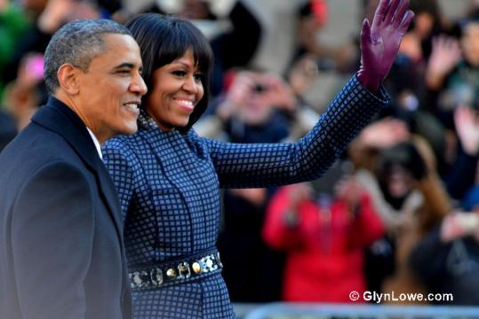 The Obamas. image Flickr - https://www.flickr.com/photos/glynlowe/8402719001