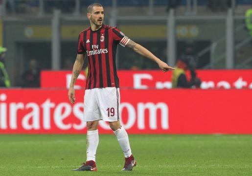 Leonardo Bonucci, attuale capitano del Milan.