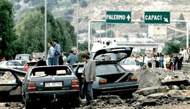 Strage di Capaci - 23 Maggio 1992 (http://www.repubblica.it/)