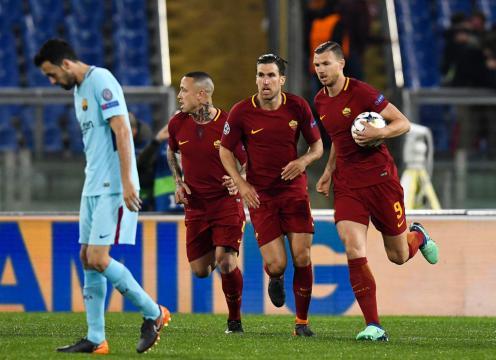 Football Ligue des Champions - La Roma colle une remontada au ... - foot01.com