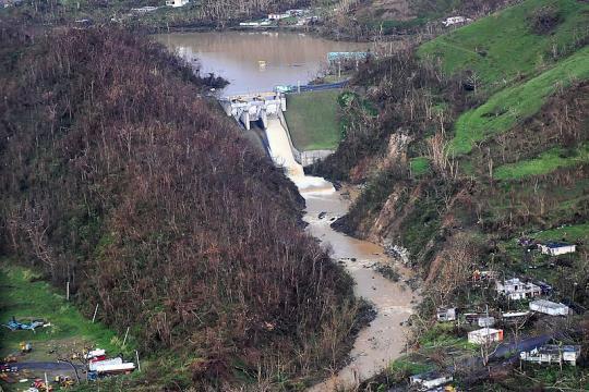 Puerto Rico devastated by Hurricane Maria (Image credit - Jose Ahiram Diaz-Ramos, Wikimedia Commons)