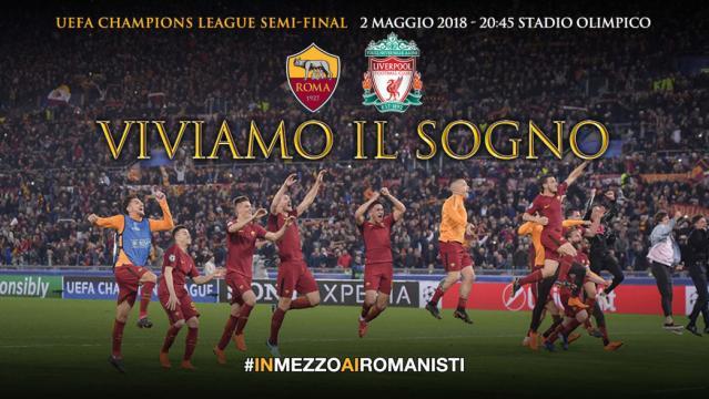 Ticket information: Champions League semi-final v. Liverpool - asroma.com