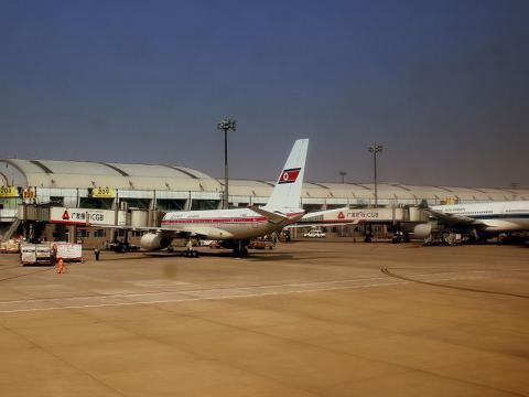 Air Koryo Tupolev Tu-204 (P-632) at Beijing Capital Airport (Image credit – calflier001, Wikimedia Commons)
