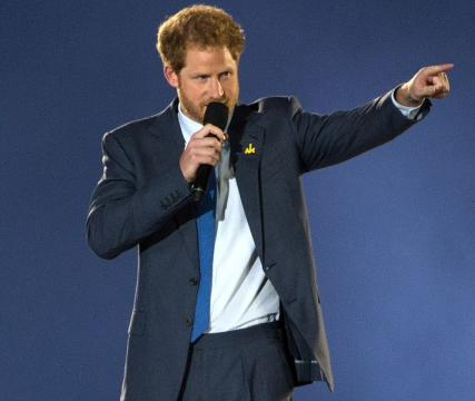Prince Harry at the opening ceremony of the 2016 Invictus games in Orlando, Fla. - [Image credit - EJ Hersom / Wikimedia Commons]