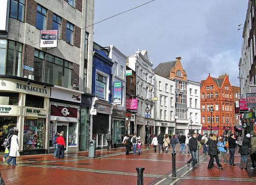 Grafton Street, Dublin (Image credit – Donaldytong, Wikimedia Commons)