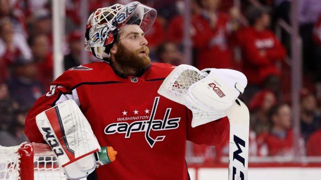 Holtby ha sido clave en las victorias de los Caps en la serie. NHL.com.