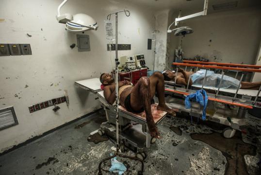 hospitales cada día sin recursos