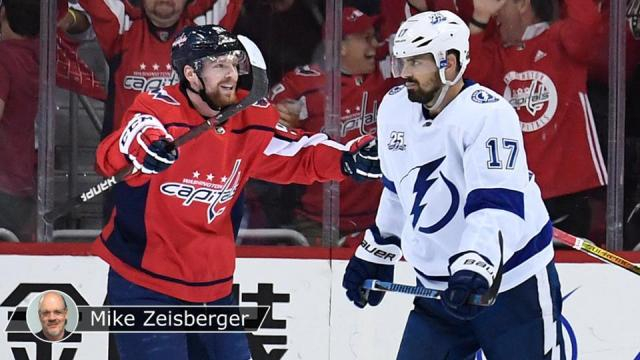 Los Caps están a una victoria de llegar a la final vs Vegas. NHL.com.