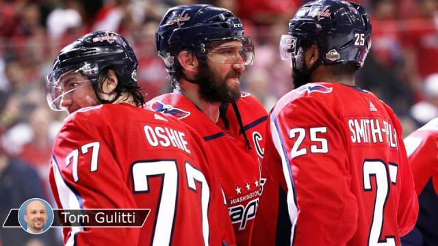 Oshie y Smith-Pelly fueron los artífices goleadores del juego 6. NHL.co,.