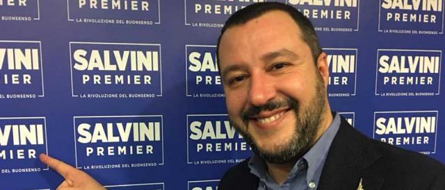 Il leader della Lega e del Centrodestra, Matteo Salvini