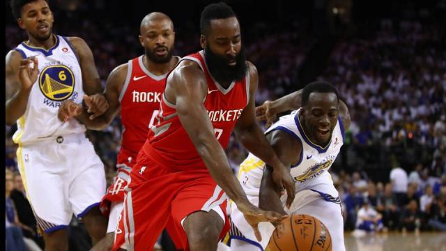 Houston prend l'avantage face aux Warriors