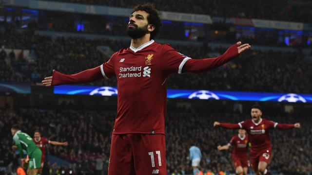 Liverpool Face Key Call over How to Use Mohamed Salah against Real ... - aawsat.com