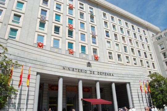 La sede del Ministerio de defensa desde ahora bajo la dirección de Margarita Robles