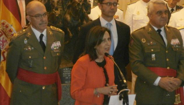 Margarita Robles da en su primer discurso los perfiles de su mandato