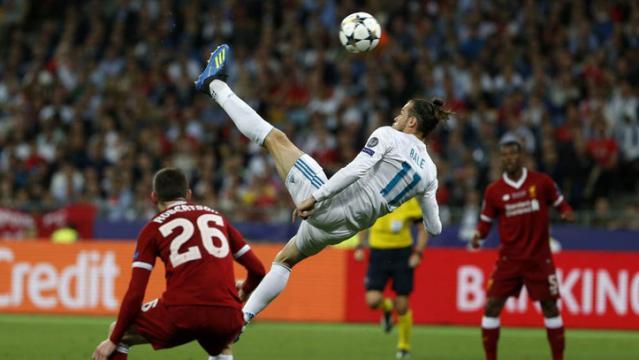 Bale con media chilena para la historia marcó el 2-1. Mundo Deportivo.com.