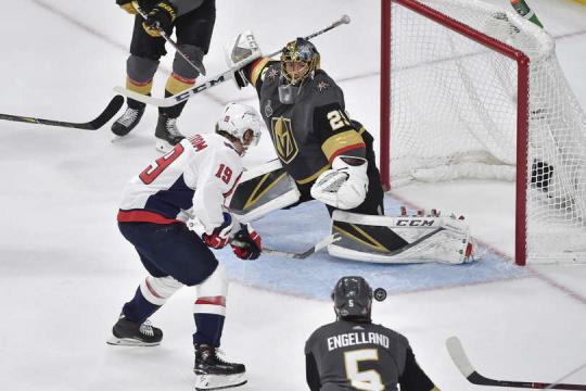 Backstrom metió un gol en la final a un gran pase de Oshie. NHL.com.