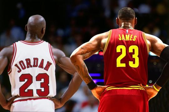 How Michael Jordan And LeBron James Compare | Fadeaway World - fadeawayworld.com