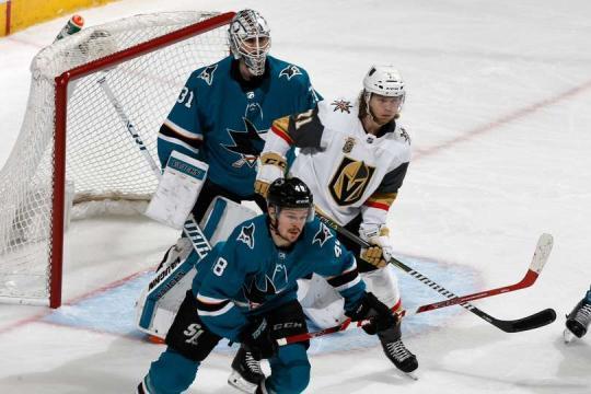 Martin Jones fue de los héroes de los Sharks. NHL.com.