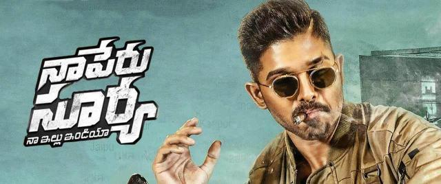 Naa Peru Surya - Naa Illu India Movie (2018) | Reviews, Cast ... - (Image via bookmyshow.com)
