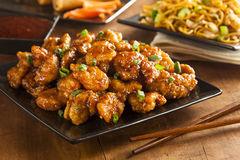 Pollo anaranjado imagen de archivo. Imagen de pollo, cena - 39995479 - dreamstime.com