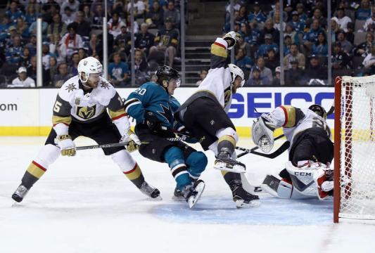 Sorensen se inventó una gran jugada individual para el 1-0. NHL.com.