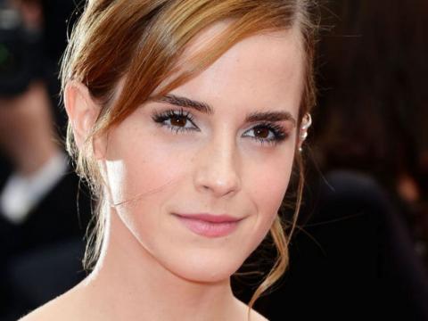 Emma Watson en la entrega de reconocmientos