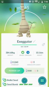 Alolan Exeggutor is so tall, the screen itself can't hold it. Image - In-game Screenshot by Sierra Hawkins