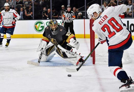 Lars Eller es un MVP prematuro en la serie. NHL.com.