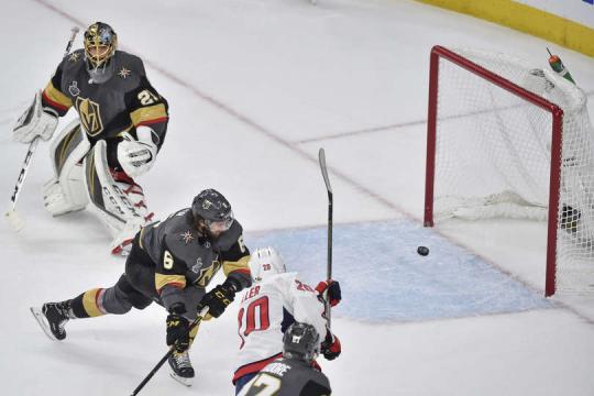 Lars Eller, tuvo una gran partido con 1 gol y dos asistencias. NHL.com.
