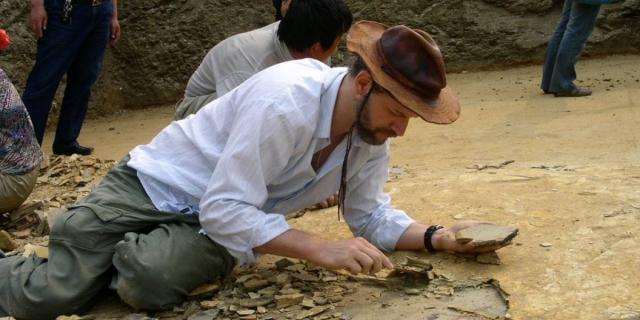 Paleontologos investigan la llegada