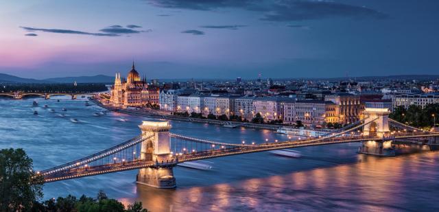 El Budapest nocturno no tiene desperdcio.