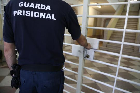 Estabelecimento Prisional de Caxias - entrada