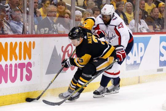 Los Caps perdieron de nueva cuenta contra los Penguins. NHL.com.