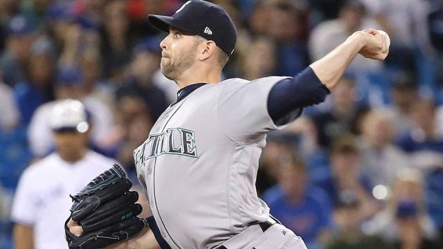 Paxton logró el sin ht con 99 lanzamientos. MLB.com.