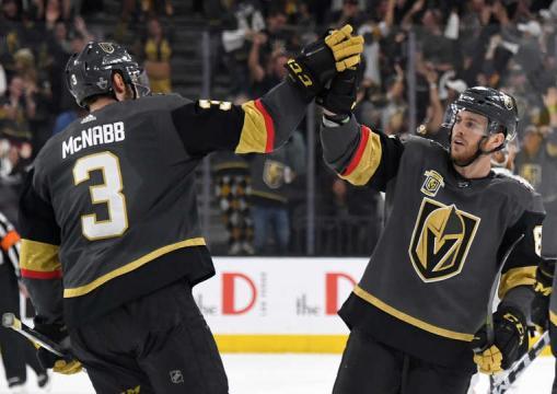 Vegas sigue haciendo historia en su primera campaña. NHL.com.