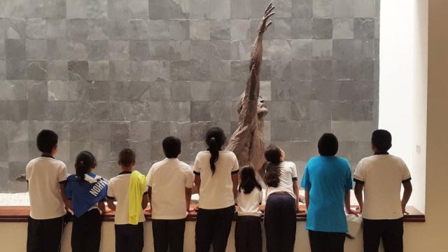 Día Internacional de los Museos. Visita de escolares