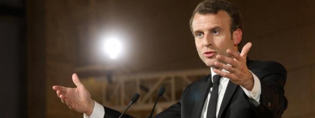 Discours d'Emmanuel Macron devant les évêques :