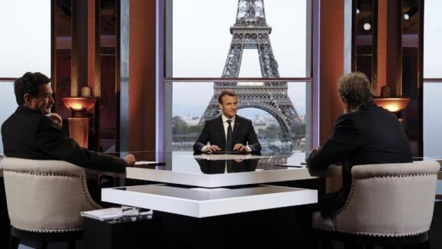 Emmanuel Macron, un an à l'Elysée : l'interview | Mickael NOGAL - mickaelnogal.fr