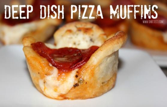 Muffin pizza la receta facil y sabrosa- mexico.com