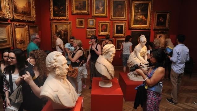 Record de visitantes en museos durante un solo día: el 18 de mayo