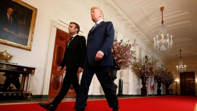 Iran: Macron et Trump appellent à un nouvel accord - Moyen-Orient ... - rfi.fr