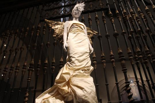 The Met Gala Exhibit: 'Heavenly Bodies Fashion and the Catholic Imagination' 4/photo via Tracey Fitzpatrick