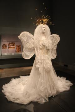The Met Gala Exhibit: 'Heavenly Bodies Fashion and the Catholic Imagination'/photo via Tracey Fitzpatrick