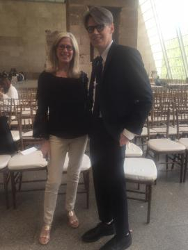 The Met with Curator Andrew Bolton & Tracey Fitzpatrick/photo via Delaney Dietzgen