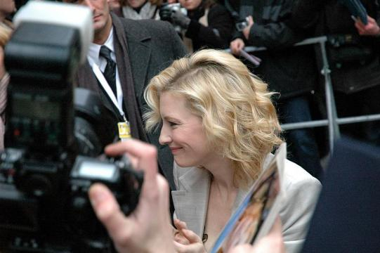 Actress Cate Blanchett at the Berlin Film Festival (Image credit – popperipopp, Wikimedia Commons)