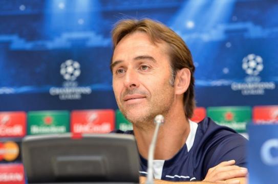 Julen Lopetegui el técnico de la selección española de fútbol firma con el Madrid
