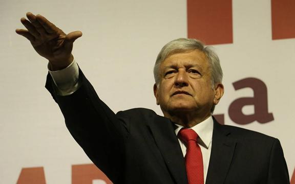 Andrés Manuel López Obrador, candidato por la Coalición 'Juntos haremos historia'