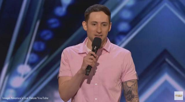 Samuel J. Comroe is a standup comedian with Tourette syndrome. He wowed the judges on