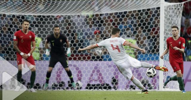 Portugal - Espagne (2 - 3) : Revoir le but de Nacho en vidéo - Une ... - tf1.fr