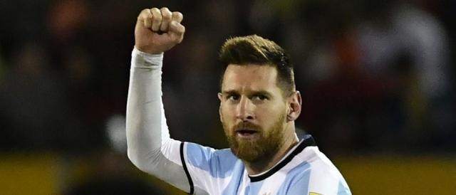 L'Argentina dipende esclusivamente dal rendimento di Messi